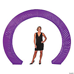 Purple Circle Arch Slip