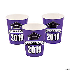 Purple Class of 2019 Cups