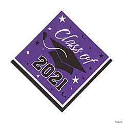Purple Class of 2021 Luncheon Napkins