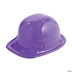 Purple Construction Hats - 12 Pc.