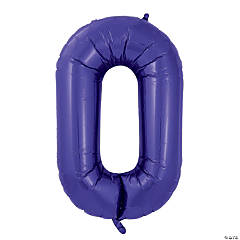 Purple Deco Link Mylar Balloon