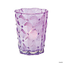 Purple Decorative Votive Candle Holders