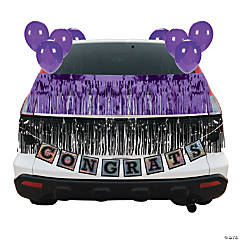 Purple Graduation Car Parade Decorating Kit