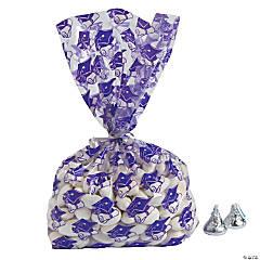 Purple Graduation Cellophane Bags