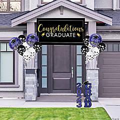 Purple Graduation Outdoor Decorating Kit