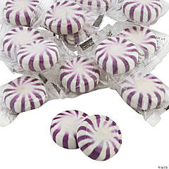Purple Hard Candy Discs