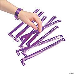 Purple Laser Wristbands
