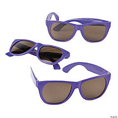 Purple Nomad Sunglasses