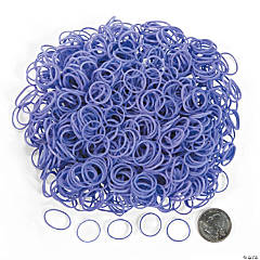 Purple Rubber Fun Loops Refill