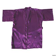 Purple Silk Robe