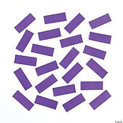 Purple Tissue Paper Confetti