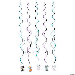 Purr-Fect Party Hanging Swirls