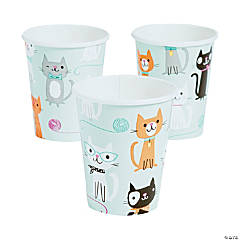 Purr-Fect Party Paper Cups