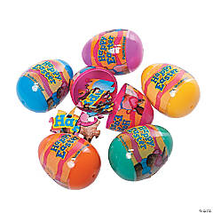 Puzzle-Filled Plastic Easter Eggs