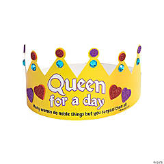Queen for a Day Blessed Mom Crown Craft Kit