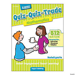 Quiz-Quiz-Trade: Mathematics, 2nd/4th Grade