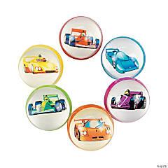 Race Car Bouncing Balls