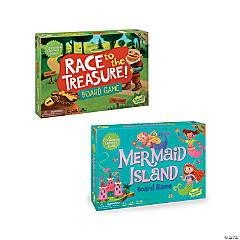 Race To The Treasure and Mermaid Island: Set of 2
