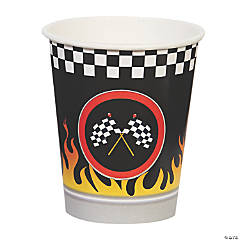 Racecar Racing Party Cups