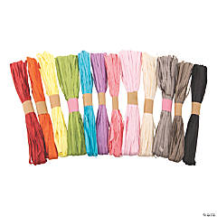 Raffia Ribbon Assortment