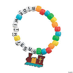 Railroad VBS Beaded Bracelet Craft Kit