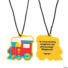 Railroad VBS Charm Necklaces