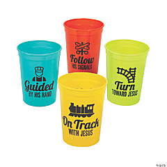Railroad VBS Cups