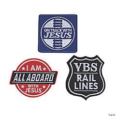Railroad VBS Iron-On Patches