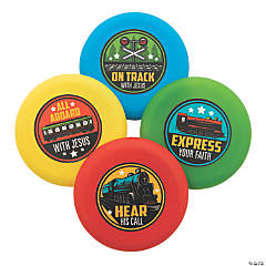 Railroad VBS Mini Flying Discs