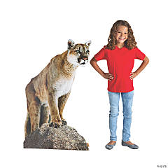 Railroad VBS Mountain Lion Stand-Up