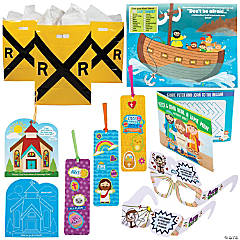 Railroad VBS On-the-Go Activity Kits for 48