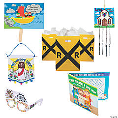 Railroad VBS On-the-Go Bible Stories Kit for 48