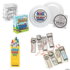 Railroad VBS On-the-Go Color Your Own Activities for 48