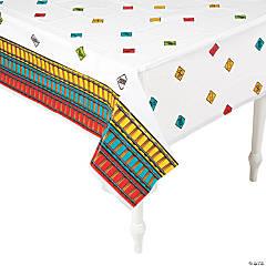 Railroad VBS Plastic Tablecloth