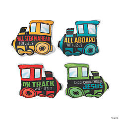 Railroad VBS Plush Train Assortment