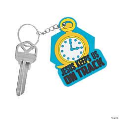 Railroad VBS Pocket Watch Keychains