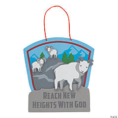 Railroad VBS Reach New Heights Sign Craft Kit