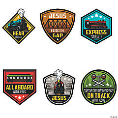 Railroad VBS Sign Cutouts