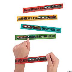 Railroad VBS Slap Bracelets