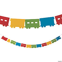 Railroad VBS Train Garland