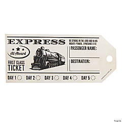 Railroad VBS Train Punch Tickets