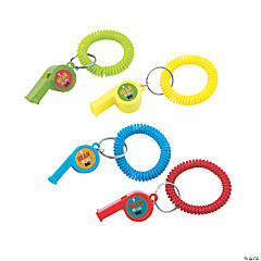Railroad VBS Wrist Whistles