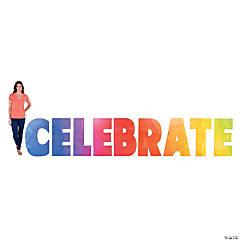 Rainbow Celebrate Stand-Ups