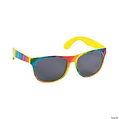 Rainbow-Colored Sunglasses