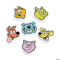 Rainbow Dog & Cat Erasers