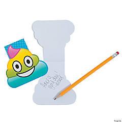 Rainbow Emoji Poop Notepads