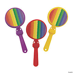 Rainbow Hand Clappers
