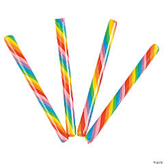 Rainbow Hard Candy Sticks