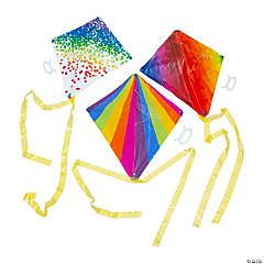 Rainbow Kites with Tail