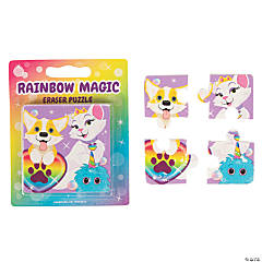 Rainbow Magic Eraser Jigsaw Puzzles - 12 Pc.
